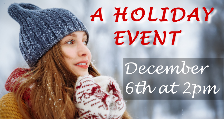 A Holiday Event with Savings!
