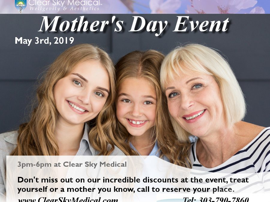 Mothers Day Event May 3rd